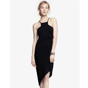 🆕Express cut-in asymmetrical hem dress